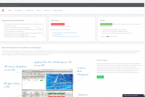 Website und UX-Design